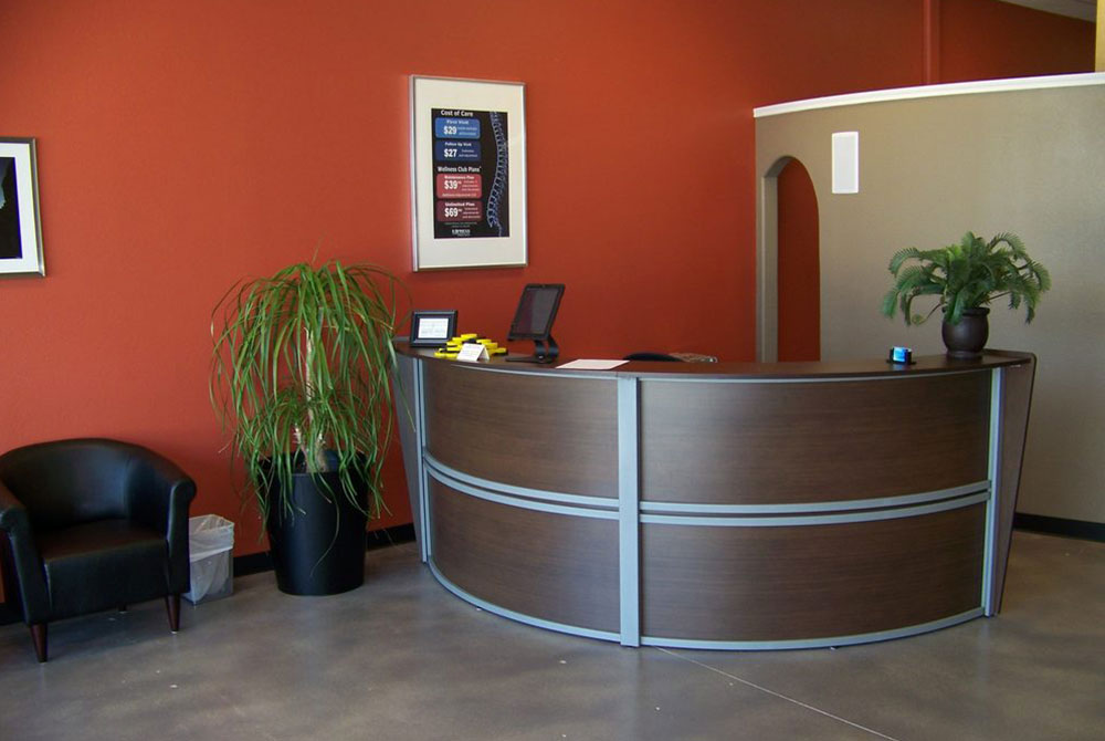 Express Chiropractic FortWorth Inside Clinic